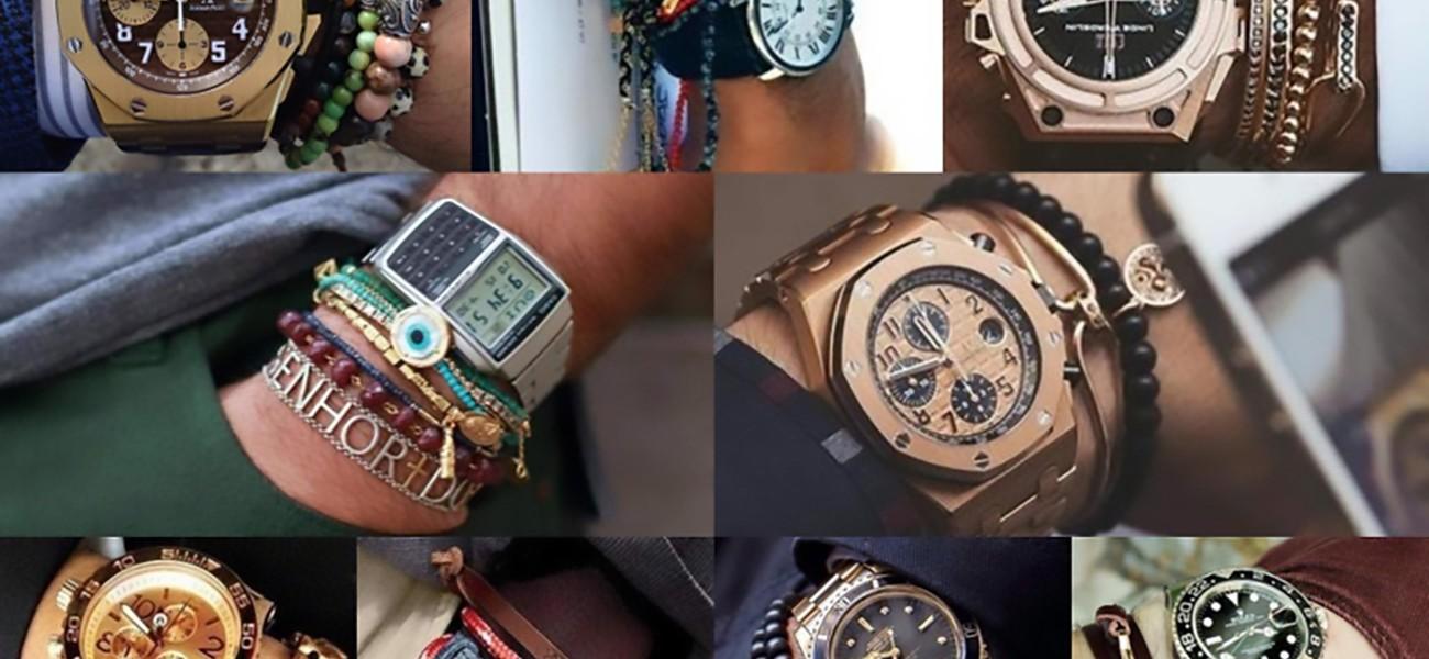 На какой руке носят браслет мужчины>
