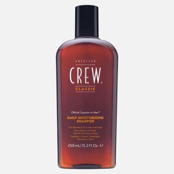 Мужской увлажняющий шампунь American Crew Daily Moisturizing для сухих волос, купить в интернет-магазине Brutalbeard