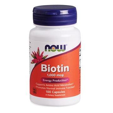 Биотин (Biotin) — Витамин для волос