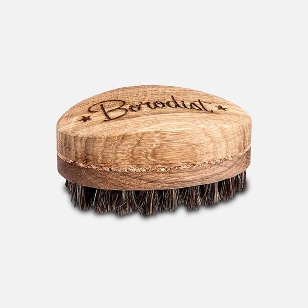 Щетка для бороды Borodist из натурального ворса кабана, купить в интернет-магазине Brutalbeard