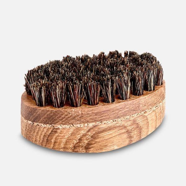 Щетка для бороды Borodist из натурального ворса кабана, фото 2