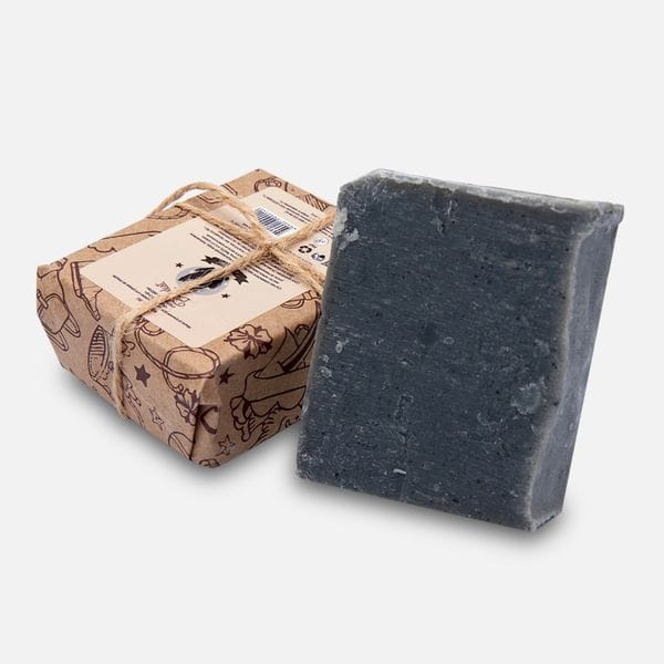 Угольное мыло Borodist Black Stone, фото 3