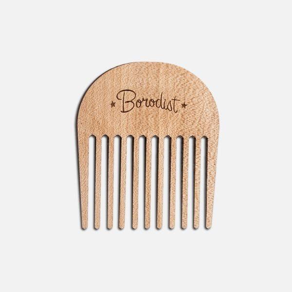 Аксессуары Comb Wood, производитель Borodist - в интернет-магазине Brutalbeard