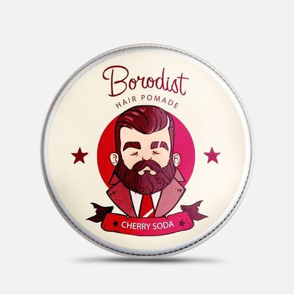 Бриолин для волос Borodist Cherry Soda, купить в интернет-магазине Brutalbeard
