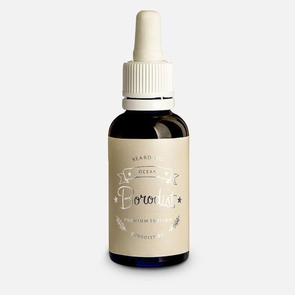 Премиальное масло для бороды Borodist Premium Ocean, купить в интернет-магазине Brutalbeard