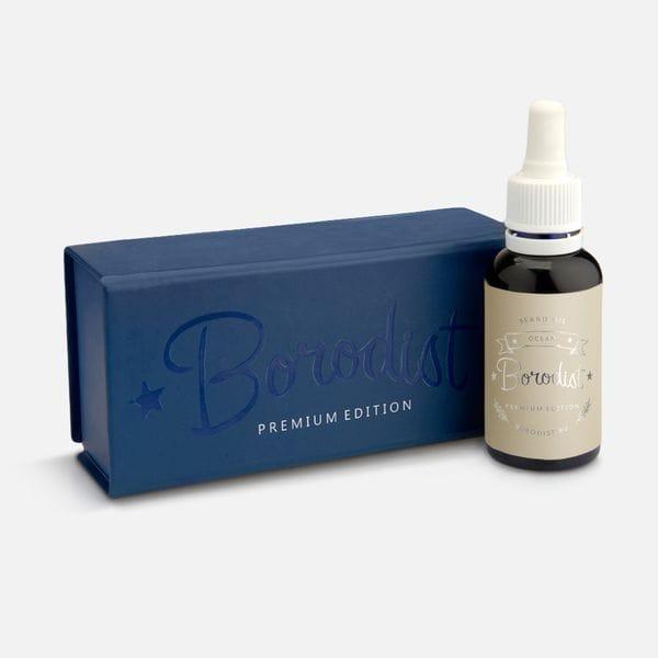 Премиальное масло для бороды Borodist Premium Ocean, фото 1
