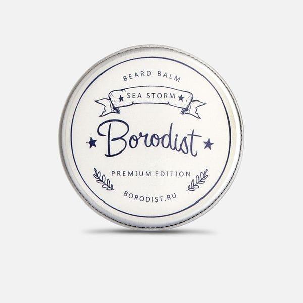 Премиальный бальзам для бороды Borodist Premium Sea Storm, купить в интернет-магазине Brutalbeard