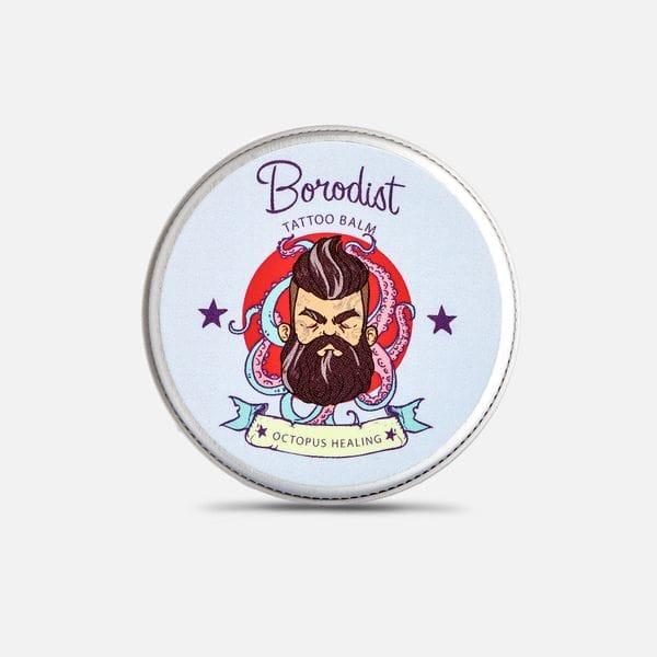 Бальзам для заживления тату Borodist Octopus Healing, купить в интернет-магазине Brutalbeard