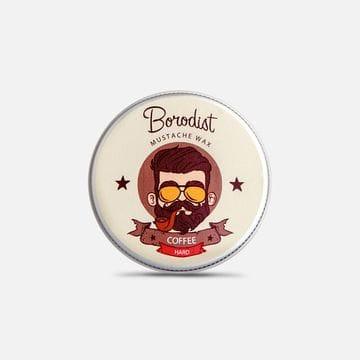 Воск для усов Borodist сильной фиксации аромат Coffe