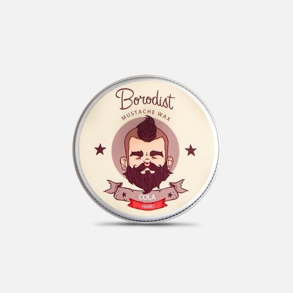 Воск для усов Borodist сильной фиксации аромат Cola, купить в интернет-магазине Brutalbeard