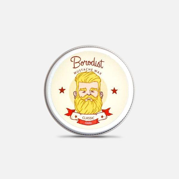Воск для усов Borodist Classic сильной фиксации без аромата, купить в интернет-магазине Brutalbeard