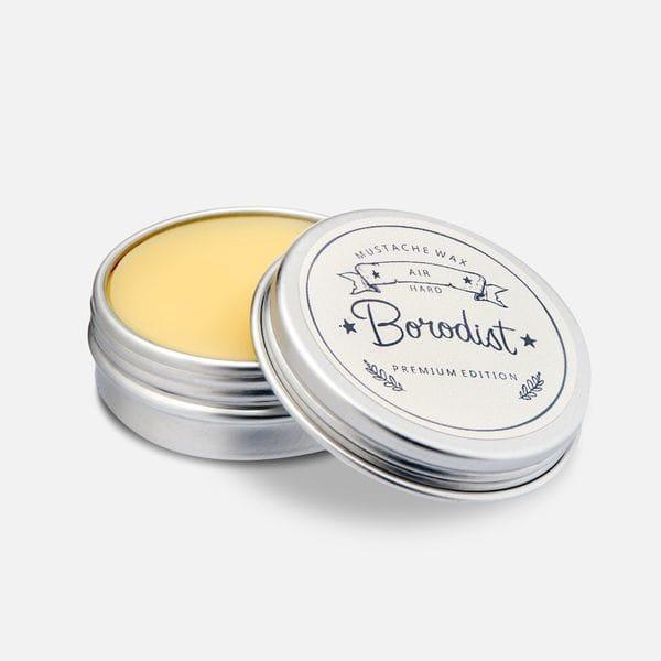 Премиальный воск для усов Borodist Premium Air средней фиксации, фото 2