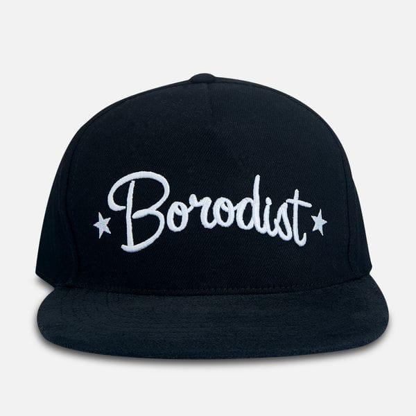 Кепка с широким козырьком Borodist, черного цвета, купить в интернет-магазине Brutalbeard