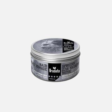 Бриолин Bradato для укладки волос с ароматом кофе
