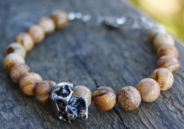 Браслет из натуральных камней, купить в интернет-магазине Brutalbeard