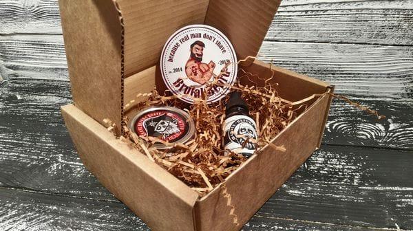 Мужская коробка для подарка: под косметику, аксессуары, браслеты, фото 3