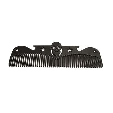 Расческа Black Comb - Beard, 12 на 3 см