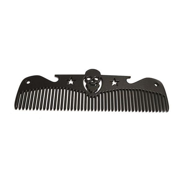 Расческа Black Comb - Beard, 12 на 3 см, купить в интернет-магазине Brutalbeard