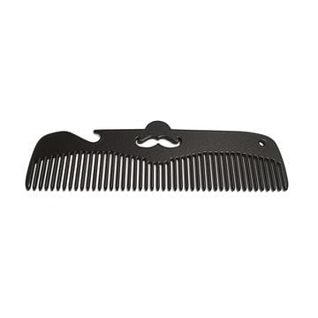 Расческа Black Comb - Moustache, 12 на 3 см