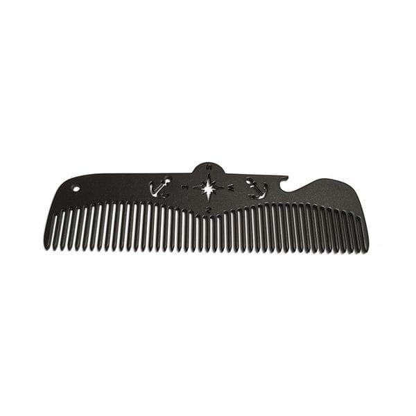 Расческа Black Comb - Compass, 12 на 3 см, купить в интернет-магазине Brutalbeard