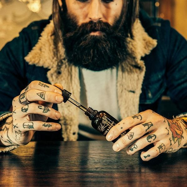 Capitan Fawcett Ricki Hall's Booze & Baccy Beard Oil 50ml, фото 3