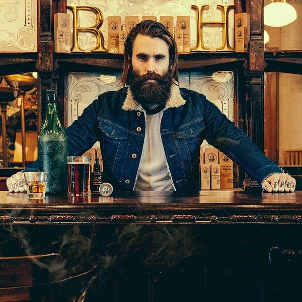 Capitan Fawcett Ricki Hall's Booze & Baccy Beard Oil 50ml, фото 2