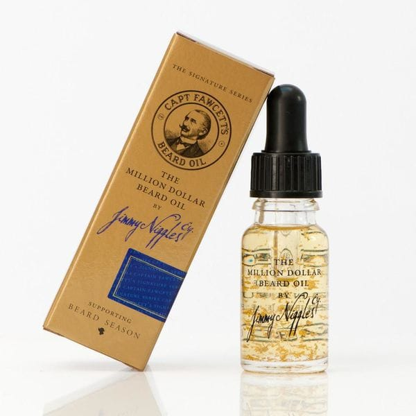 Премиум масло для бороды Captain Fawcett Jimmy Niggles Million Dollar, 10ml Travel Sized, купить в интернет-магазине Brutalbeard