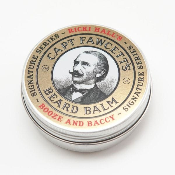 Captain Fawcett Ricki Hall Booze & Baccy Beard Balm, 60ml, купить в интернет-магазине Brutalbeard