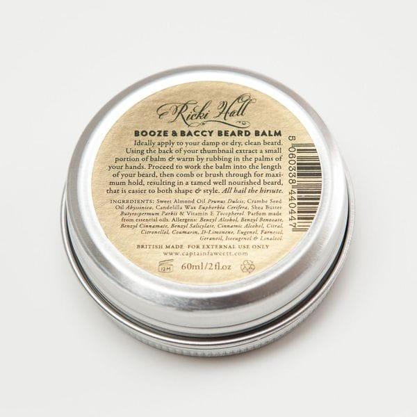 Captain Fawcett Ricki Hall Booze & Baccy Beard Balm, 60ml, фото 2