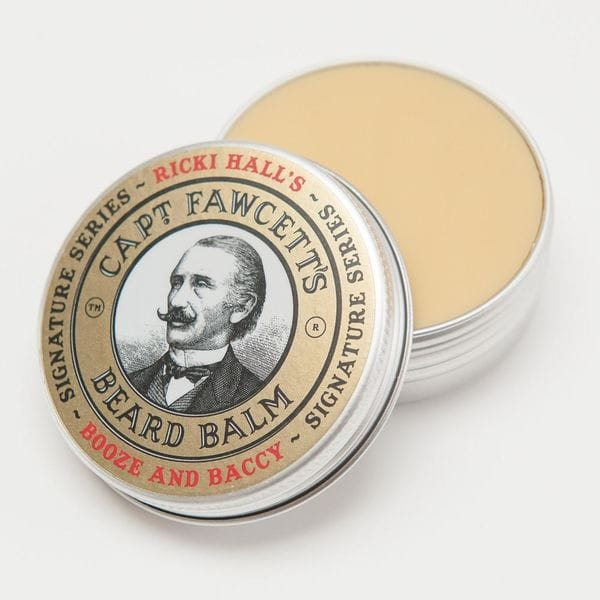 Captain Fawcett Ricki Hall Booze & Baccy Beard Balm, 60ml, фото 3