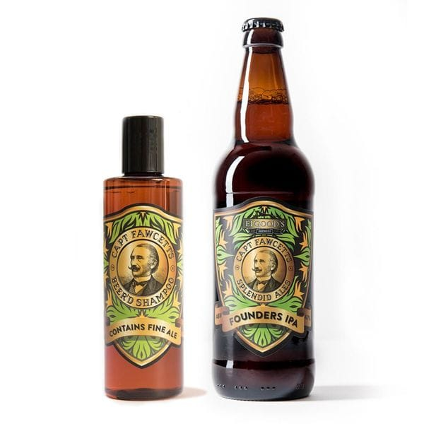 Captain Fawcett's Beer'd Shampoo, 250ml, фото 3