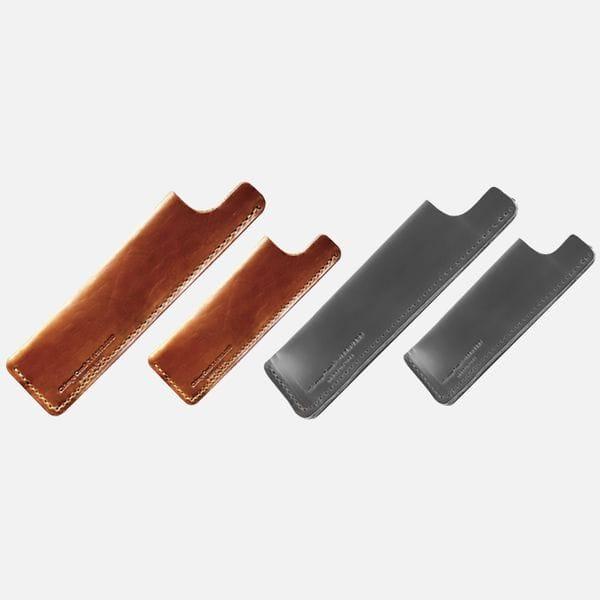 Классическая чехлы из кожи Horween под модели расчесок Chicago Comb Co, купить в интернет-магазине Brutalbeard