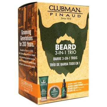 Clubman Beard 3-in-1 Trio