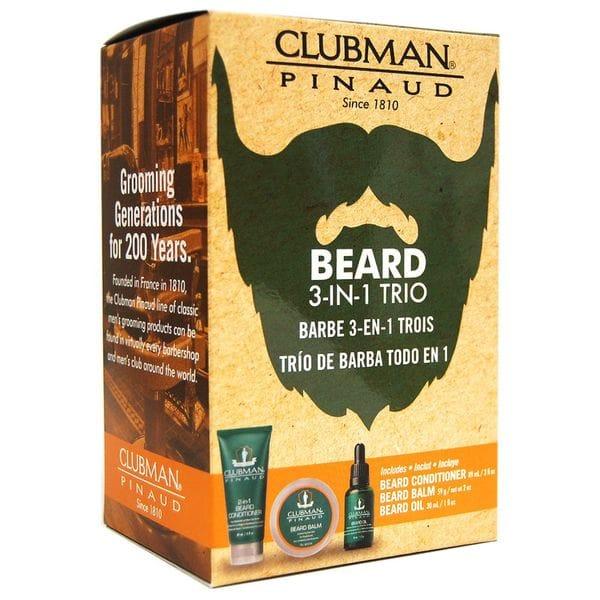 Clubman Beard 3-in-1 Trio, купить в интернет-магазине Brutalbeard