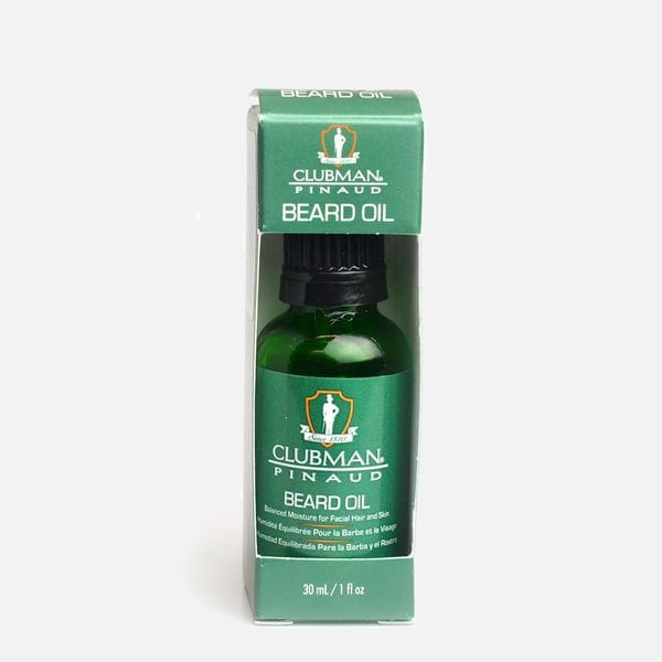 Масло для бороды Clubman Pinaud Beard Oil с добавлением арганы, макадамии, моринги и витамина Е, купить в интернет-магазине Brutalbeard