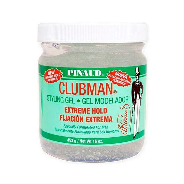 Clubman Extreme Hold Styling Gel Гель для укладки сверх-сильной фиксации, 480 мл, купить в интернет-магазине Brutalbeard