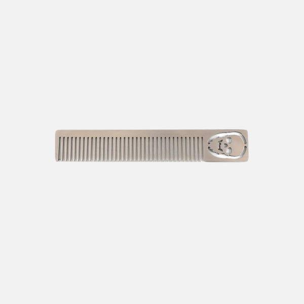 Карманная расческа Beard classik из металла, фото 2