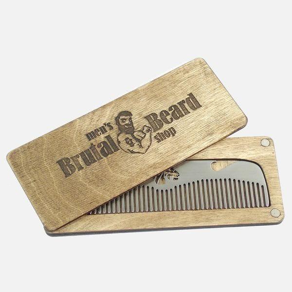 Мужская расческа для укладки волос Lion, фото 1