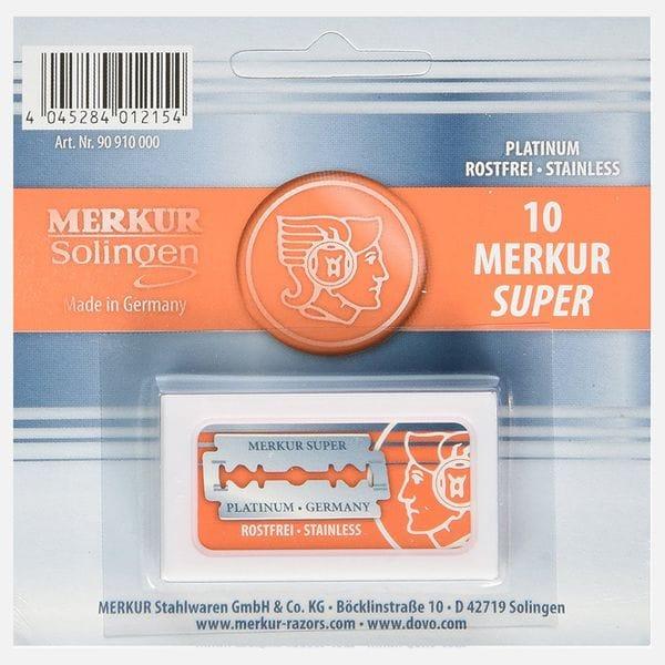 Сменные лезвия Merkur для Т-образных станков 10 шт, купить в интернет-магазине Brutalbeard