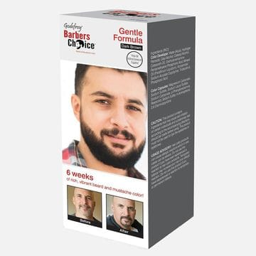 Краска в капсулах для бороды Godefroy Barbers Choice Dark Brown темно-коричневая