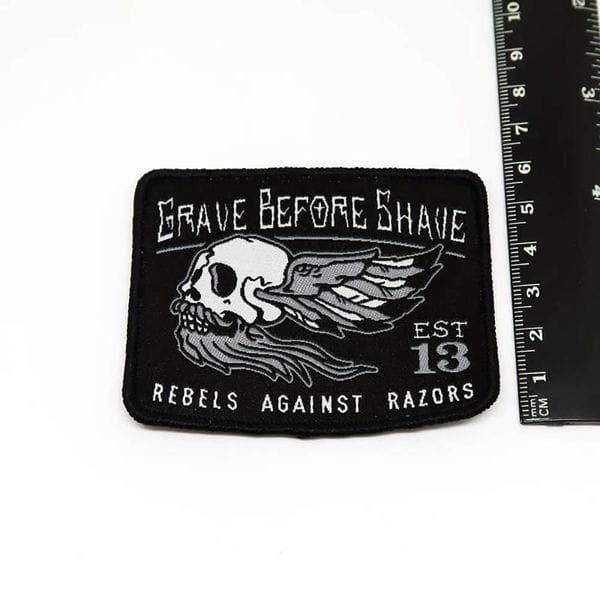 Нашивка GBS Rebels Against Razors patch, фото 1