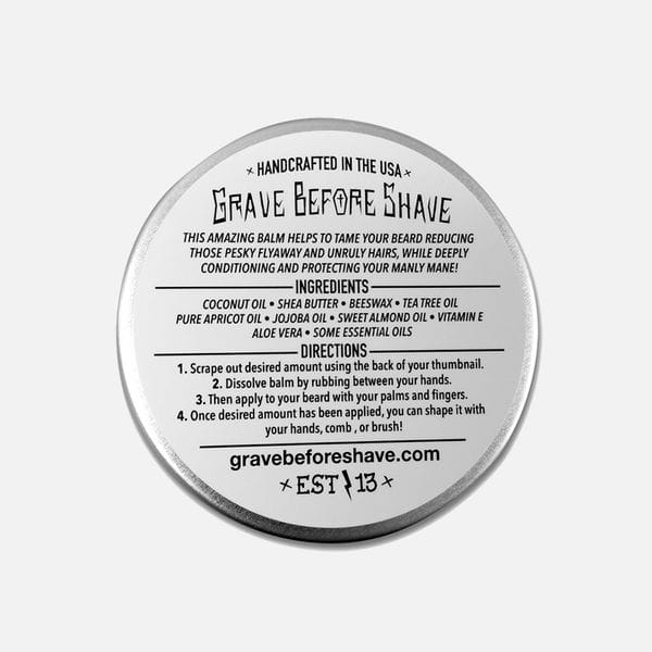 Бальзам для бороды Grave Before Shave Cigar Blend, фото 1
