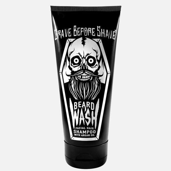 Шампунь для бороды Grave Before Shave Beard Wash Shampoo с арагановым маслом, купить в интернет-магазине Brutalbeard