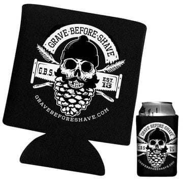 Чехол под банку GRAVE BEFORE SHAVE Can Koozie