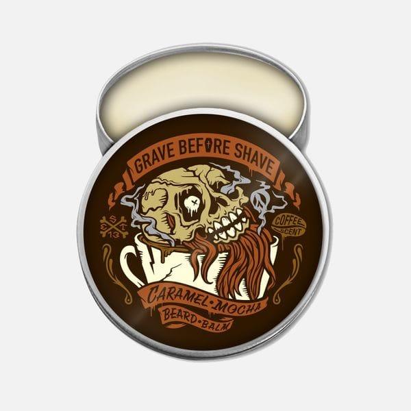 Бальзам для бороды Grave Before Shave Caramel Mocha Blend, купить в интернет-магазине Brutalbeard