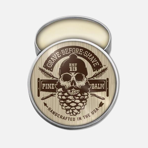 Бальзам для бороды Grave Before Shave pine scent с лесным ароматом, купить в интернет-магазине Brutalbeard