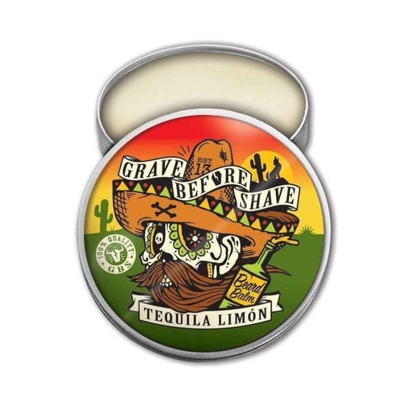 GRAVE BEFORE SHAVE Tequila Limon Blend Beard Balm 60ml, купить в интернет-магазине Brutalbeard