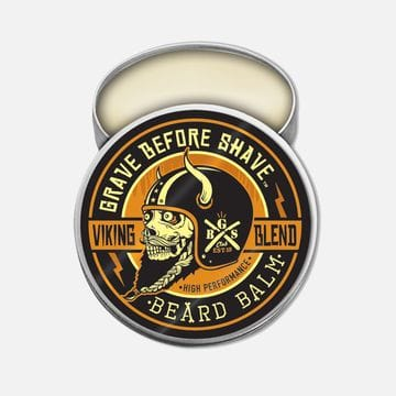 Бальзам для бороды Grave Before Shave viking blend без аромата