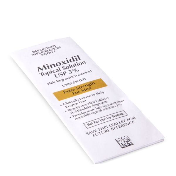 Курс Minoxidil Kirkland 5 % на 6 месяцев, с роллером, фото 2