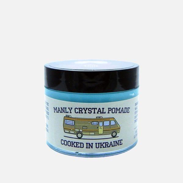 Помада для укладки Manly Crystal Pomade на водной основе, купить в интернет-магазине Brutalbeard